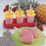 Fruity Yogurt Ice Pops