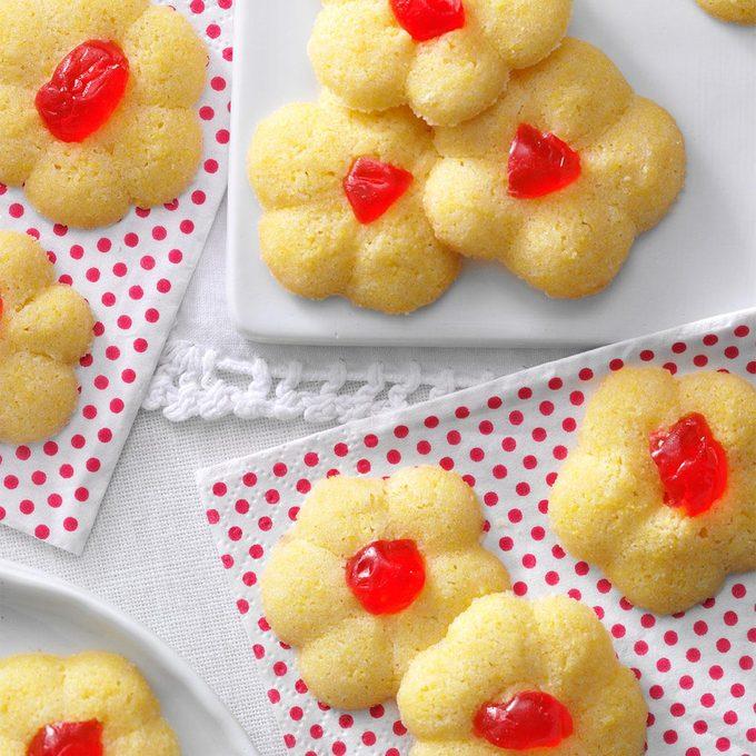 Italian Cornmeal Spritz Cookies