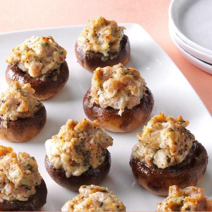 Best Ever Stuffed Mushrooms