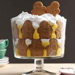 Christmas Gingerbread Trifle