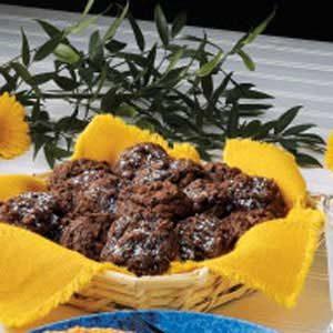 Chewy Fudge Drop Cookies