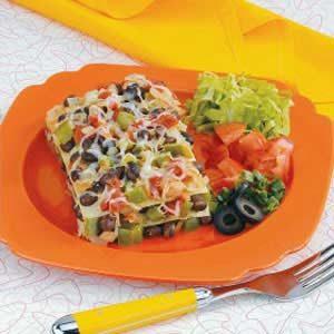 Black Bean Tortilla Casserole