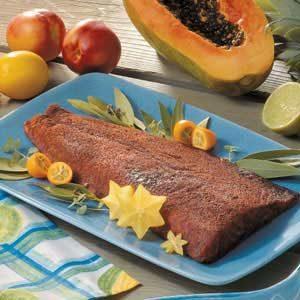 Island Spiced Salmon