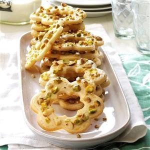 Pistachio-Walnut Cookies