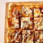 Brat & Bacon Appetizer Pizza