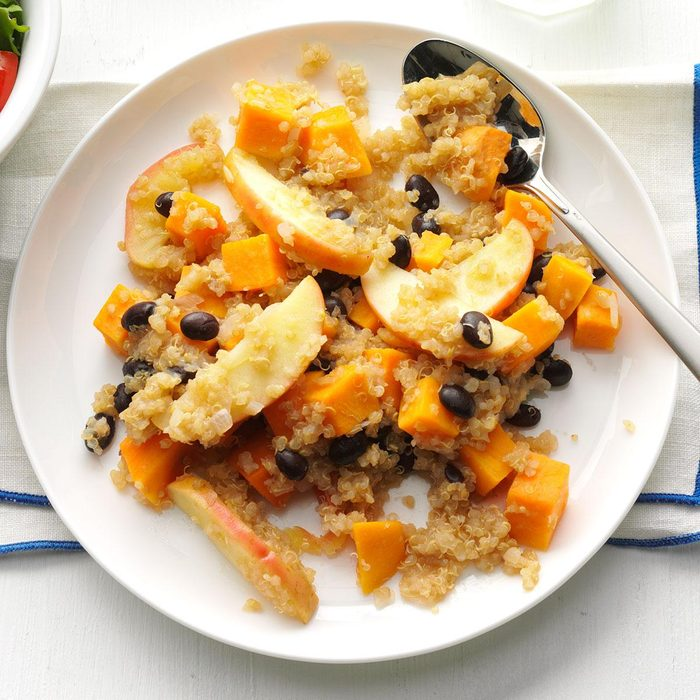 Apple & Sweet Potato Quinoa