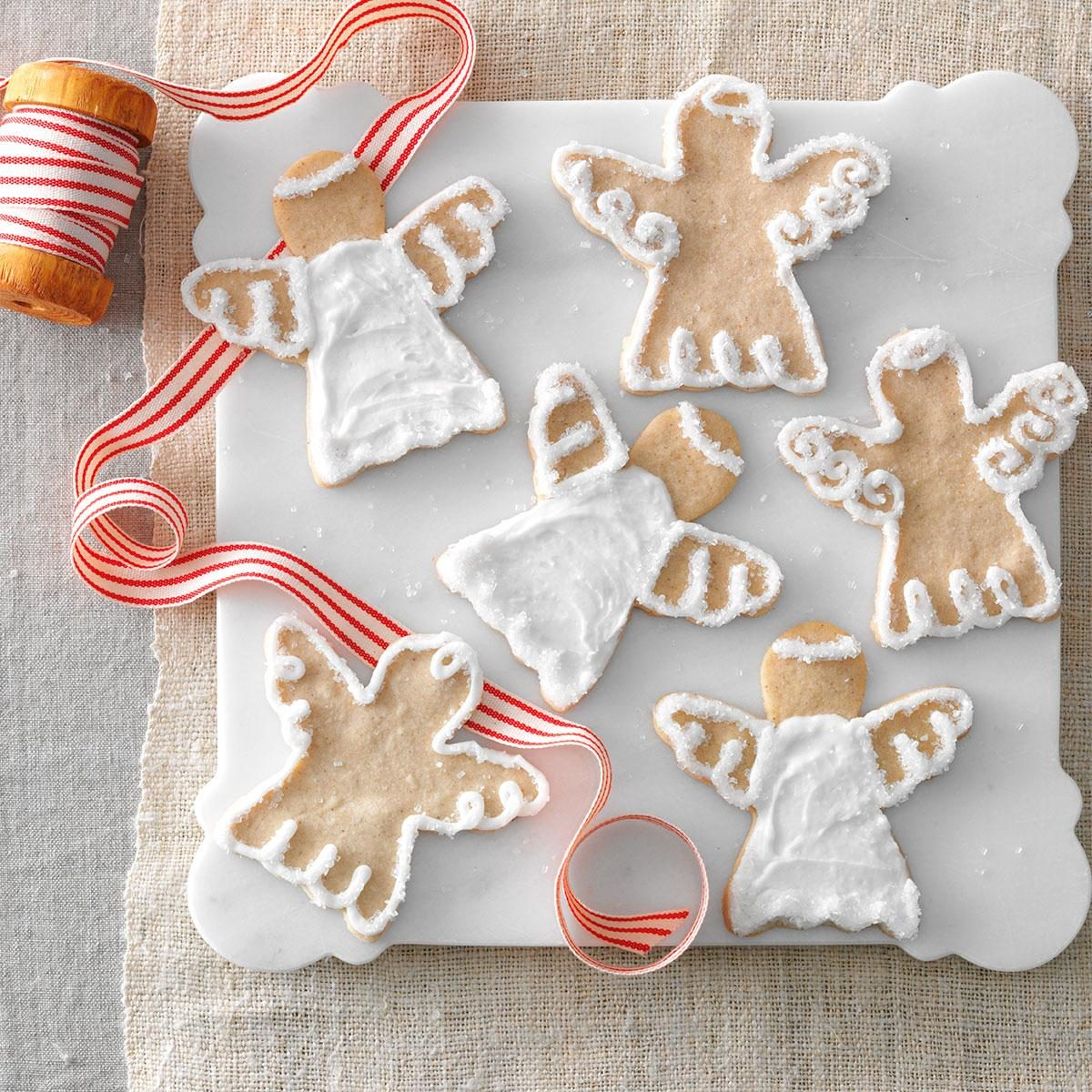Snow Angel Cookies