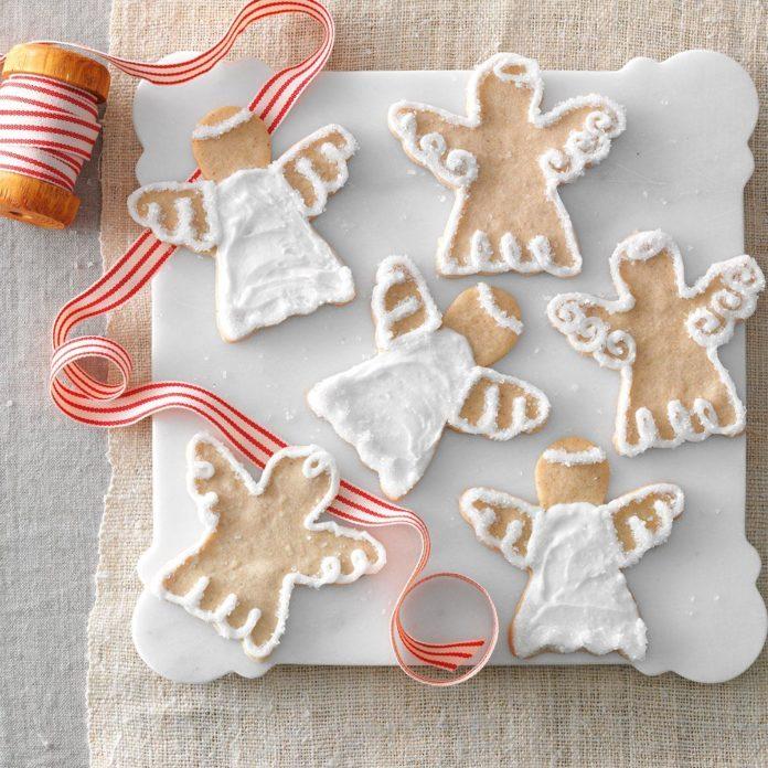 Snow Angel Cookies