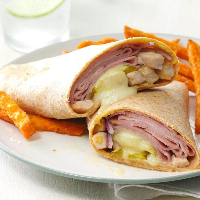 Cuban Pork Wraps