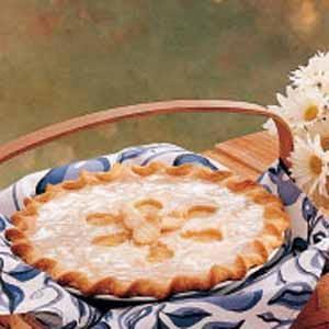 Glazed Pineapple Pie