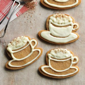 White Chocolate-Cappuccino Cookies