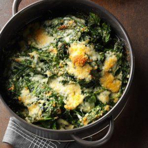 Spinach-Parm Casserole