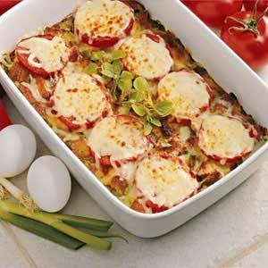 Tomato Mozzarella Bake