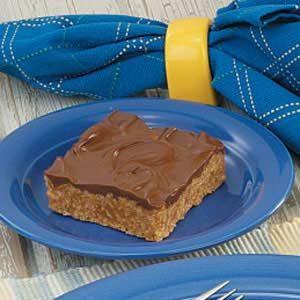 No-Bake Cereal Peanut Butter Bars