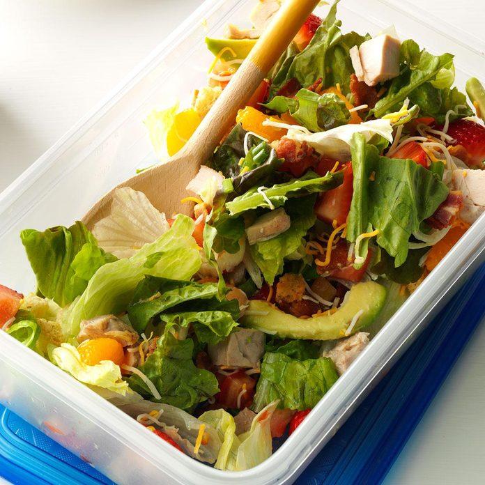 Strawberry Mandarin Chicken Salad