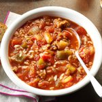 Slow-Cooked Stuffed Pepper Stew