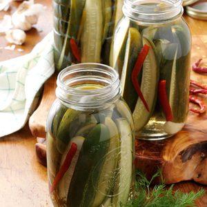 Grandma's Dill Pickles