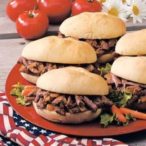Mile High Shredded Beef