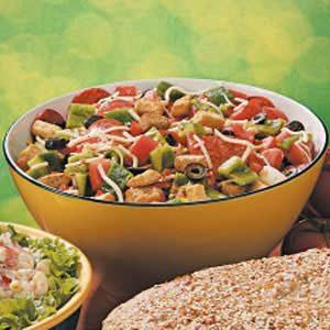 Pepperoni Pizza Salad