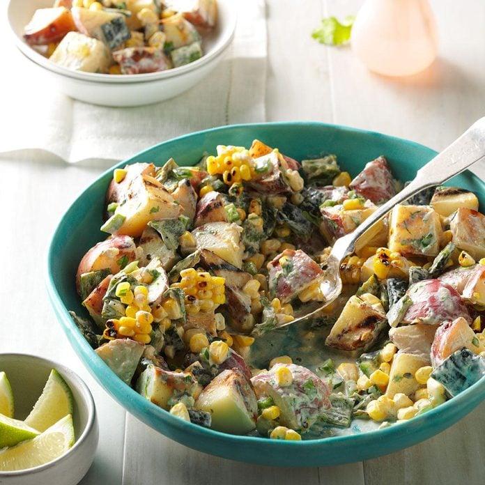 Grilled Southwestern Potato Salad