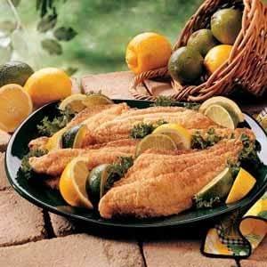 Golden Catfish Fillets