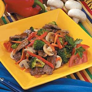 Flank Steak Stir-Fry