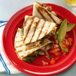 Chiles Rellenos Grilled Chicken Tacos