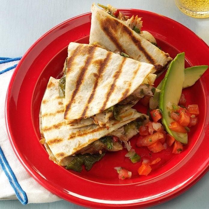 Louisiana: Chicken-Chile Relleno Tacos