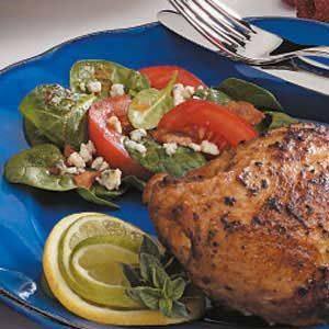 Tomato Bacon Spinach Salad