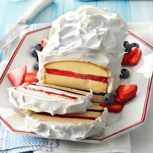 Red, White 'n' Blue Torte