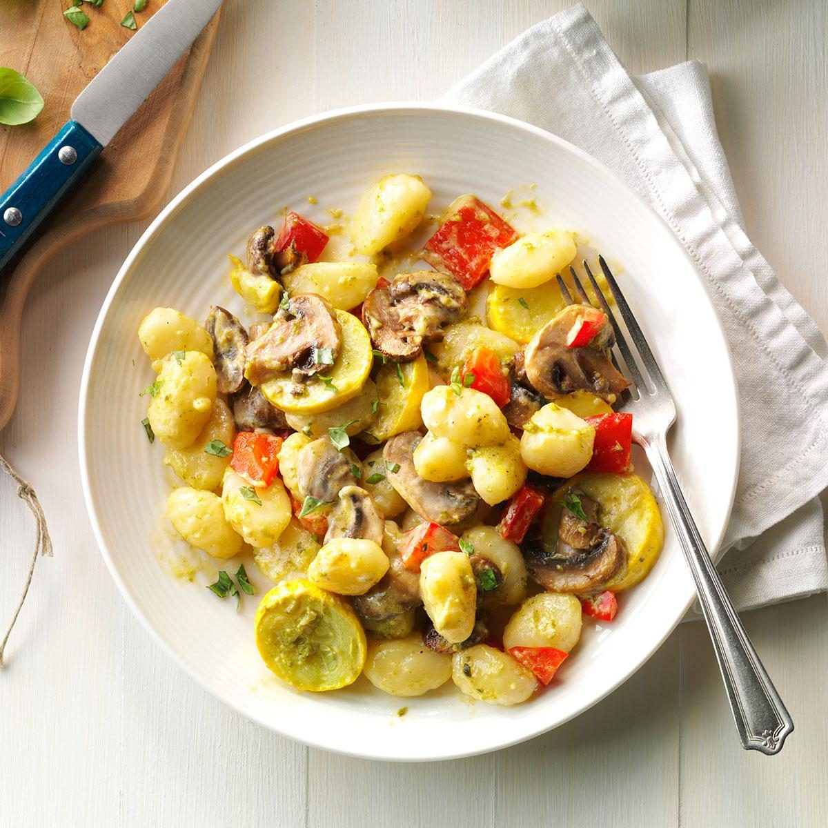 Garden Vegetable Gnocchi