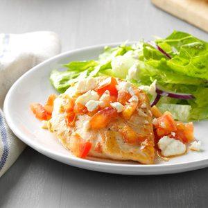 Caesar Chicken with Feta