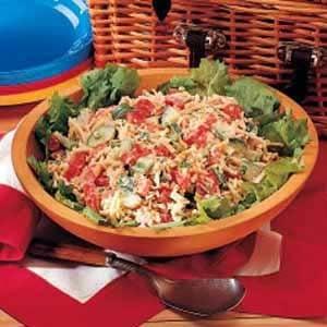 Vegetable Cheese Salad