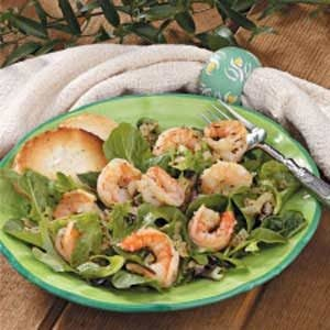 Warm Shrimp Salad