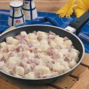 Potato Ham Skillet