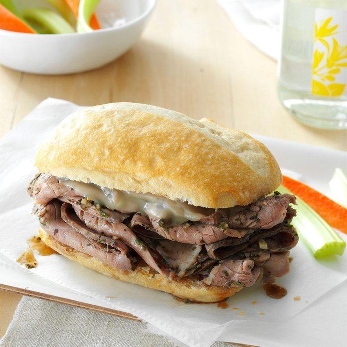 Italian Steak Sandwiches