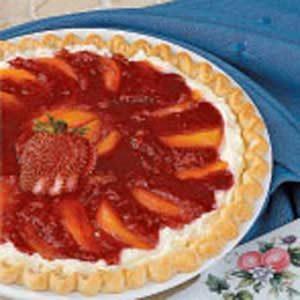 Nectarine Cream Pie