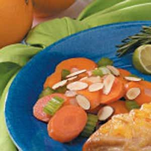 Carrot 'N' Celery Amandine