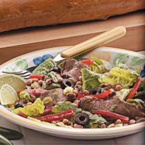Beef 'N' Black-Eyed Pea Salad