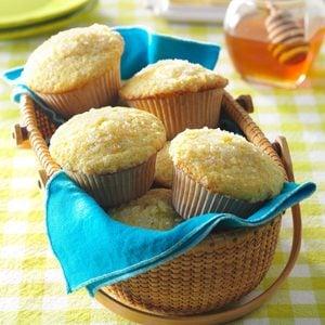 Ginger & Lemon Muffins