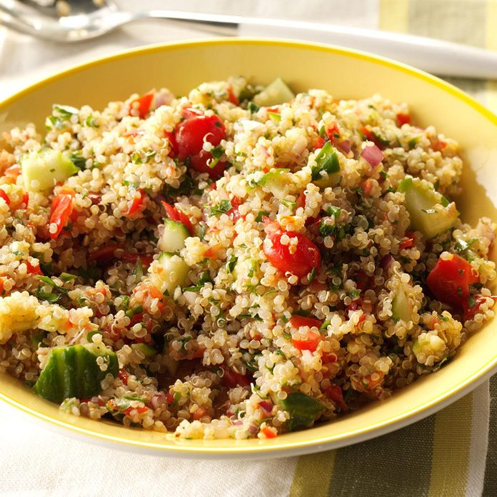 Day 2 Lunch: Quinoa Tabbouleh Salad