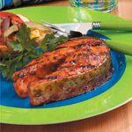 Firecracker Salmon Steaks