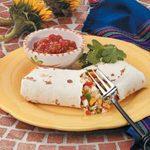 Sweet Pepper Burritos