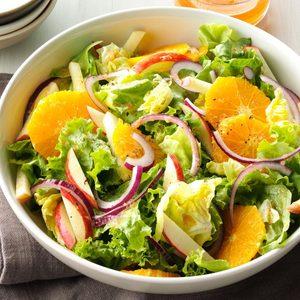 Mixed Greens with Orange-Ginger Vinaigrette