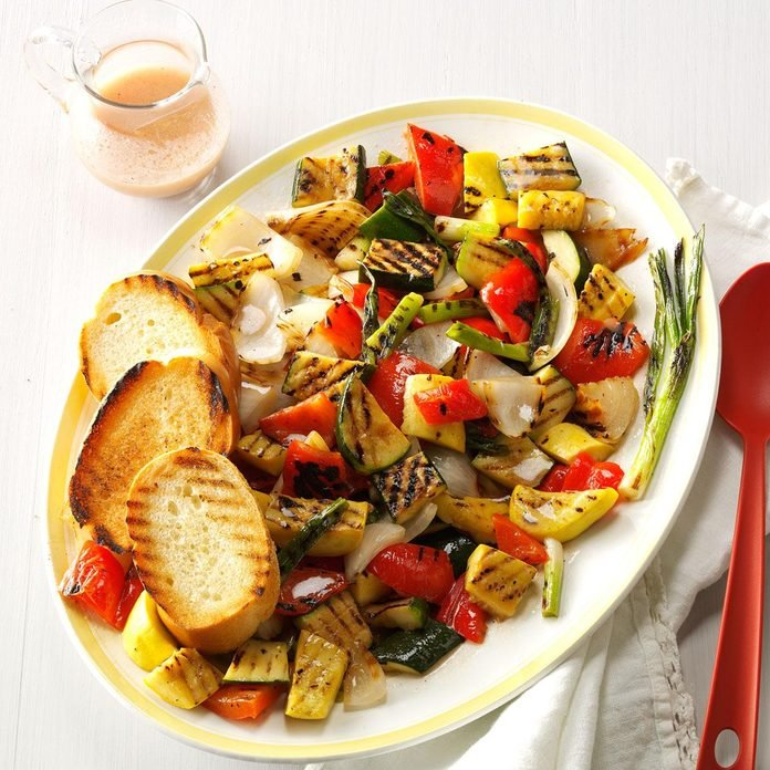Inspired by: Fire Grilled Veggies