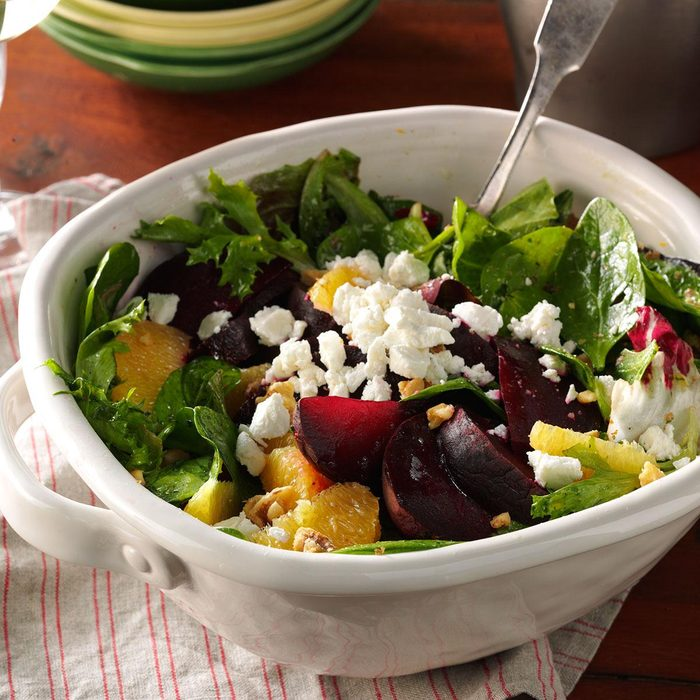 Inspired by: Roasted Beet and Goat Cheese Salad