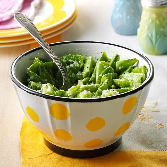 Fresh Sugar Snap Pea Salad