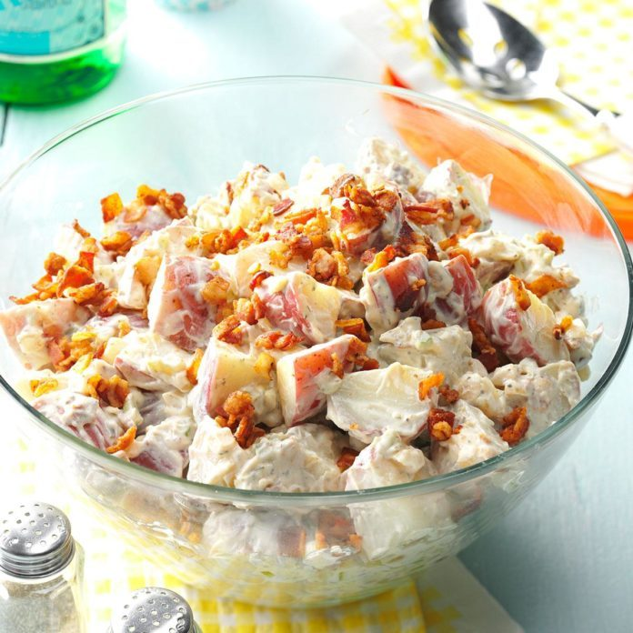 You're-Bacon-Me-Crazy Potato Salad
