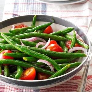 Green Bean-Cherry Tomato Salad