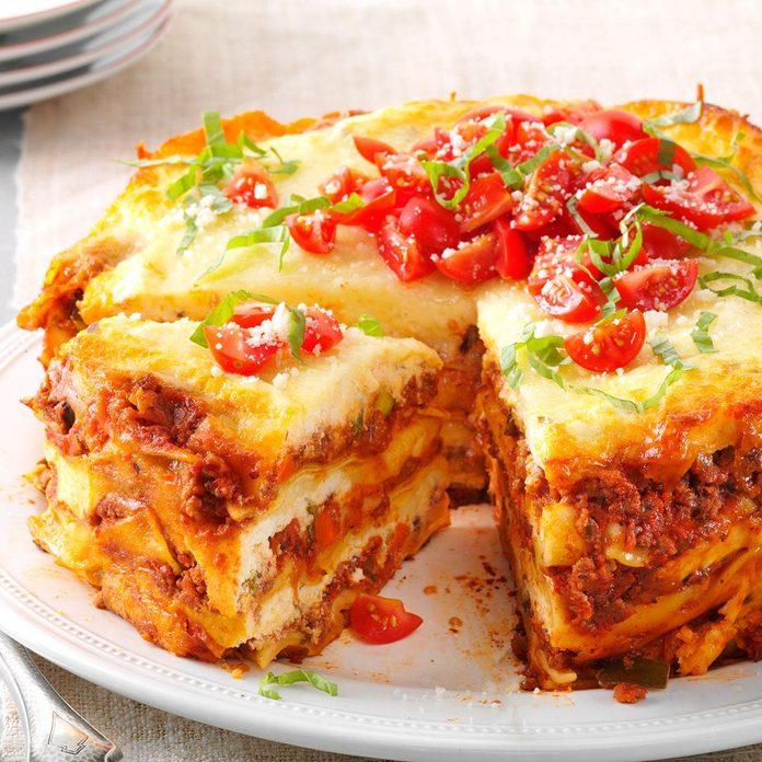 Hearty Slow-Cooker Lasagna